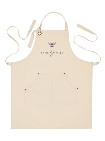 Tame and Wild Drinks branded apron