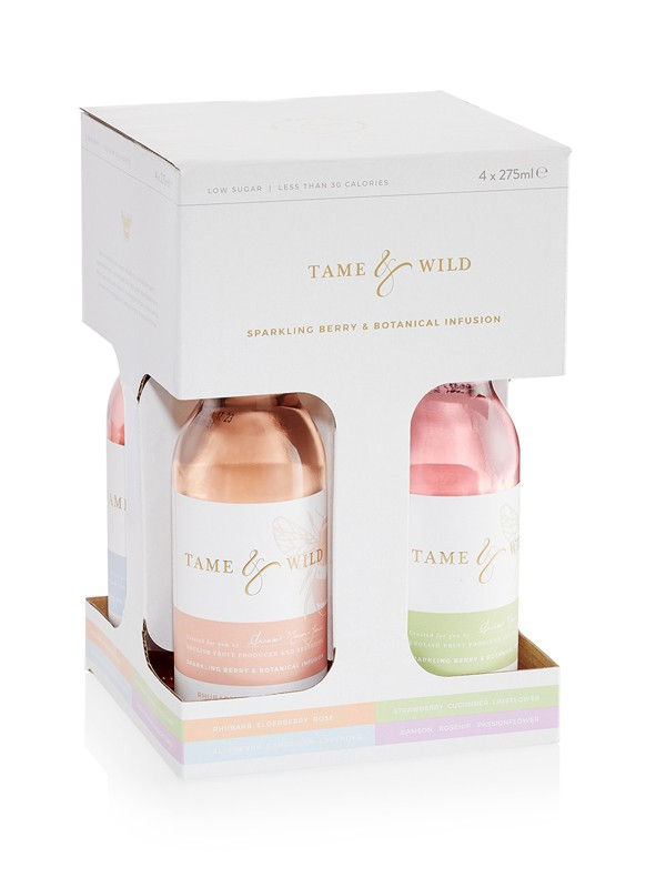 Tame and Wild Drinks gift pack of four bottles